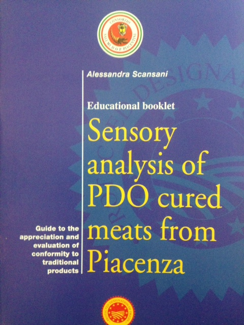 Sensory analysis of PDO cured meats from Piacenza